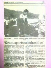 cerita biasiswa sukan kpt 1993