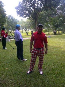 kelab golf putra
