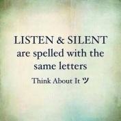 jangan bising!!! org lain nak dengar